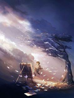 Baby Backdrops Cartoon Fairytale Backdrops Tree Background J02757