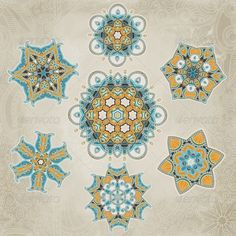 Ornate Snowflakes Vector Set  #GraphicRiver         Snowflakes vector set can be used for wallpaper, pattern fills, web page background, surface textures.     Created: 7September13 GraphicsFilesIncluded: JPGImage #VectorEPS Layered: Yes MinimumAdobeCSVersion: CS Tags: abstract #art #artwork #background #border #christmas #crystal #decor #decoration #decorative #design #flake #holiday #ice #icon #illustration #new #ornament #paper #pattern #season #silhouette #snow #snowflake #star #vector…