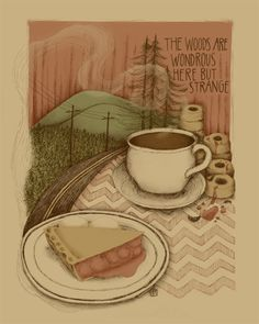 twin peaks coffee and pie