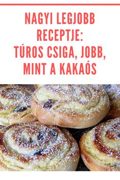 Hungarian Recipes, Food Humor, Winter Food, Cakes And More, Diy Food, Bread Baking, No Bake Cake, Soul Food, Food Hacks