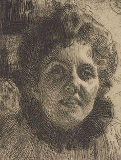 [Aurore] : [estampe] ([4e état]) / Anders Zorn / 1909