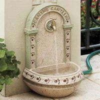 Outdoor Dog Water Fountain For Dogs