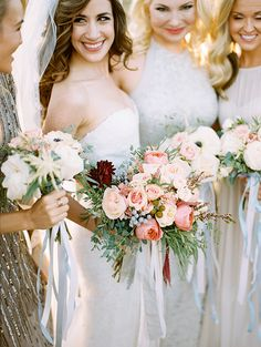 What a real wedding we have for you today. Like something from a dream, this mountainside ranch wedding fromBrumley & Wellsis perfection. Styled by the talentedA Vintage Affair Events & ...