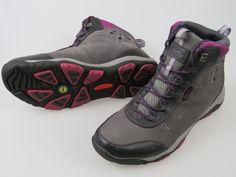 Jambu Vista Hyper Grip Boots Gray Charcoal/Raspberry Women's Size 9 Medium NICE  #Jambu #SnowWinterBoots