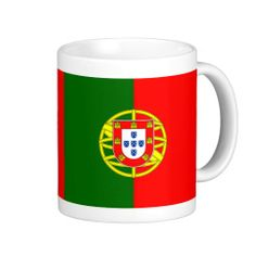 Portugal flag mug Portugal Flag, Custom Mugs, Flags, Craft, Posters, Books