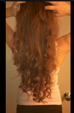 hmmm...looks like mainly the curls are at the bottom