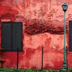 red wall composition by imajiku