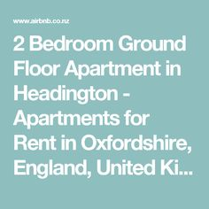 2 Bedroom Ground Floor Apartment in Headington - Apartments for Rent in Oxfordshire, England, United Kingdom Ground Floor, Apartments, United Kingdom, Condo, Oxford, The Unit, England, Flooring, Bedroom