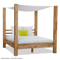 Nothing is more romantic than a canopy bed... check out our new Zinnia range!