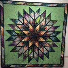 Prismatic Star, QUiltworx.com, Made by Patricia Russell, Taught by CI Linda Boerner