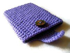 Crochet Kindle Nook EReader Sleeve Cover  Case by EpicHandmades