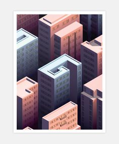 Isometric Hong Kong on Behance