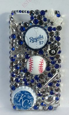 Hey, I found this really awesome Etsy listing at https://www.etsy.com/listing/185938312/kansas-city-royals-bling-phone-case