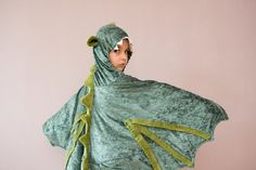 Dragon Costume Party Fairy Tale Dragon Green by BeauMiracle