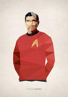 Polygon Heroes - Scotty