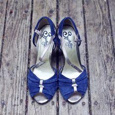 Blue Bridal Shoes....
