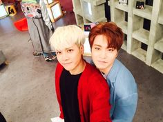 Jackson & Youngjae | ASC twitter update [160329]