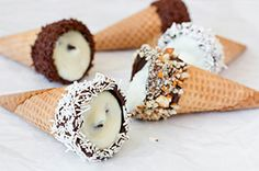 Cannoli Cones recipe