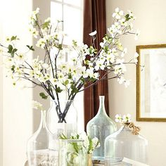 10 Beautiful {Faux} Botanicals for Spring- dogwood branch