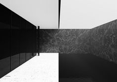 Mies Van der Rohe Barcelona Pavilion Posters by Blackhaus   Daily Icon