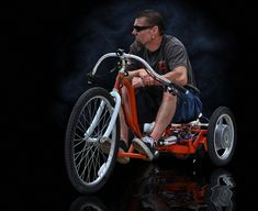 by Rat Rod Studios.Ok, Check it put ese. Rat Rods, Velo Tricycle, Custom Trikes, Drift Trike, Pedal Cars, Motorcycle Bike, Bike Design, Go Kart, Cool Bikes