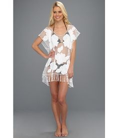 Seafolly Kailua Cover-Up White - Zappos.com Free Shipping BOTH Ways