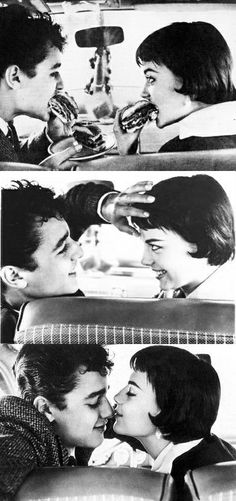 Natalie Wood and Sal Mineo.
