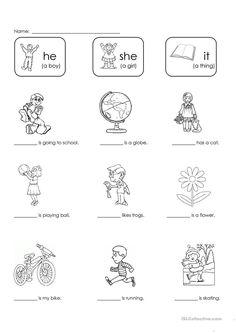 Resultado de imagen de verb to be exercises for kids