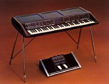 The largest online museum of vintage electronic musical instruments, including Synthesizers and Drum Machines, both analog and digital. Jan Hammer, Moog Synthesizer, Mark Mothersbaugh, Car Dates, Chick Corea, Gary Numan, Studio Gear, Cover Band, Drum Machine