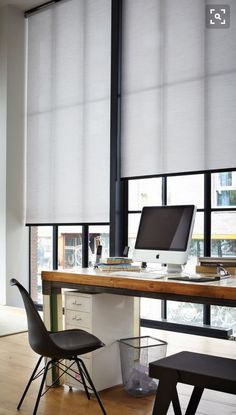 Wonderful Useful Ideas: Blinds For Windows Office blinds for windows with oak trim. Living Room Blinds, House Blinds, Curtains With Blinds, Fabric Blinds, Window Blinds, Shutter Blinds, Room Window, Blinds Diy, Window Shutters