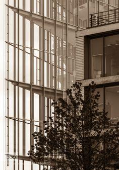 Stuttgart 2015 - 16 by ralfh  Stuttgart 2015 Badenwürtenberg Deutschland Germany Sommer architecture black and white city street r