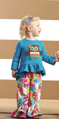Southern Tots - Mud Pie Owl Disco Pant Set (Infant Sizes), $39.00 (http://www.southerntots.com/mud-pie-owl-disco-pant-set-infant-sizes/)