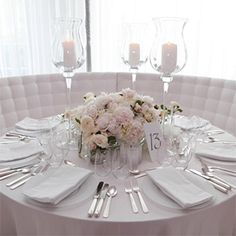 round table wedding centerpieces indian wedding reception dinner table ...