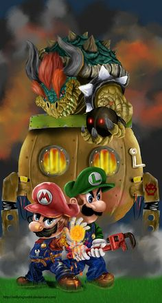 Super Mario World  by Reillyington86