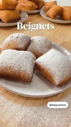 Beignets, Comida Diy, Deli Food, Tasty, Yummy Food, Fat Foods, No Cook Meals, Dessert Recipes, Desserts