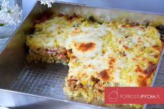 One Pan Meals, Lasagna, Quiche, Macaroni And Cheese, Dinner Recipes, Dinner Ideas, Clean Eating, Food Porn, Food And Drink