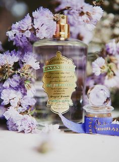 Lavandula from Penhaligon's of London Lavender Cottage, French Lavender, Raindrops And Roses, Beauty Corner, Lavandula, Perfume Collection, Vintage Perfume, Bottle Design, Face And Body