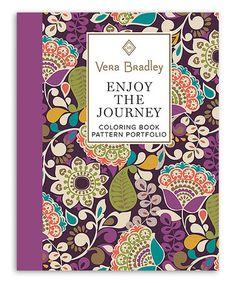 Vera Bradley Enjoy The Journey Coloring Book Pattern Portfolio Zulily Zulilyfinds