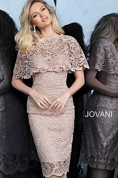 jovani Light Pink Fitted Knee Length Lace Cocktail Dress 1401 Source by th_voce Sexy Dresses, Beautiful Dresses, Dress Outfits, Casual Dresses, Short Dresses, Fashion Dresses, Formal Dresses, Summer Dresses, Wedding Dresses