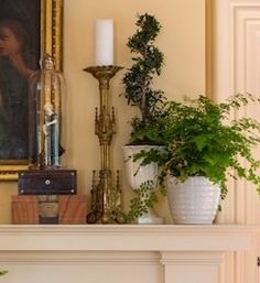mantel styling. Fireplace Mantels, Mantles, Fireplaces, Summer Mantel, Mantle Ideas, Traditional Fireplace, Living Room Remodel, Living Room Inspiration, Decorating On A Budget