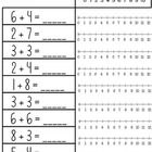 Addition on a Number Line - differentiated - freebie