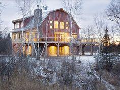 Lake Superior, Michigan 6 Bedroom Barn Home