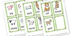 Farm yard animals - On The Farm Classroom Signs and Labels Primary Resources, Primary
