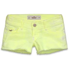 Hollister Co Hollister Low Rise Short Shorts ($40) ❤ liked on Polyvore