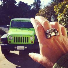 Jeep Ring by Hi Octane Jewelry #Jeep #rubicon #jewelry