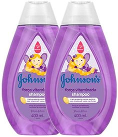 Oferta especial para Beleza: Shampoo Johnsons Força Vitaminada 400ml por apenas R$ 23,90. Shampoo Johnson, Soap, Cleaning, Beauty, Home Cleaning, Soaps