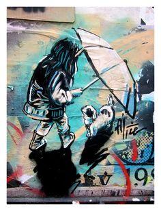 My type of art ! ;o Street art | tumblr #graffiti #art #love