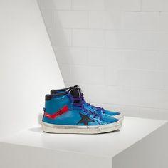 https://www.goldengoosesuperstarsneakers.com/  151 : Golden Goose GGDB 2.12 Hi Couples Sneakers Blue PurpleIxxZOYz
