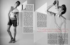 fashion magazine spread inspiration - Google Search