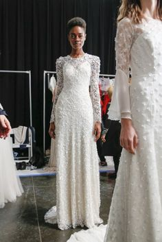 496d76c8684 Backstage at the Jenny Packham 2018 bridal collection